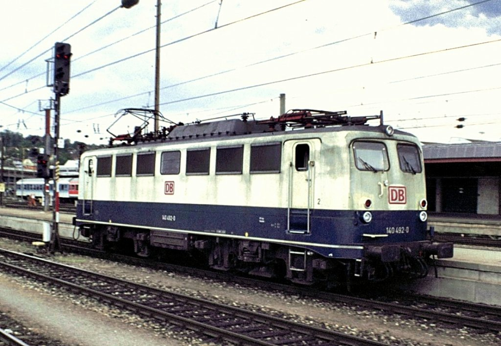140 492-0 in Ulm, am 19.05.1998.