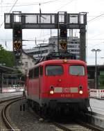 verkehrsrot/113013/110-436-3-zieht-gleich-die-regionalbahn 110 436-3 zieht gleich die Regionalbahn von Gießen nach Dillenburg. Juli 2010