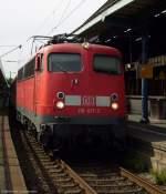 verkehrsrot/68510/110-417-3-beim-halt-mit-rb 110 417-3 beim Halt mit RB 11221 von Wuppertal nach BN-Mehlem im Bonner Hbf. Juli 2009