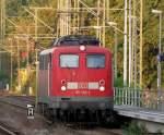 Lokportraits/34120/115-166-1-auf-dem-weg-an 115 166-1 auf dem Weg an den Zug. September 2009