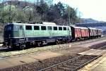 grun/51896/140-439-1-in-geislingensteige-am-23041982 140 439-1 in Geislingen/Steige, am 23.04.1982.
