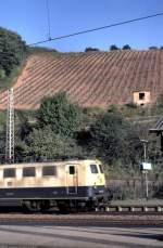 beige-blau/143551/fuer-die-gesamte-ansicht-der-141 Für die gesamte Ansicht der 141 425-9 reichte es in Karthaus nicht, da die Weinberge noch komplett mit aufs Bild sollten, im September 1992.